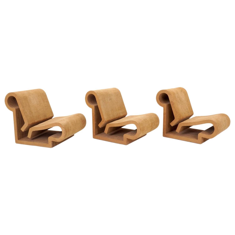 frank gehry cardboard chair desk teenager rare original easy edges contour