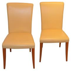 Yellow Chairs For Sale Ethan Allen Wicker Chair Poltrona Frau Vittoria Leather In 39banana
