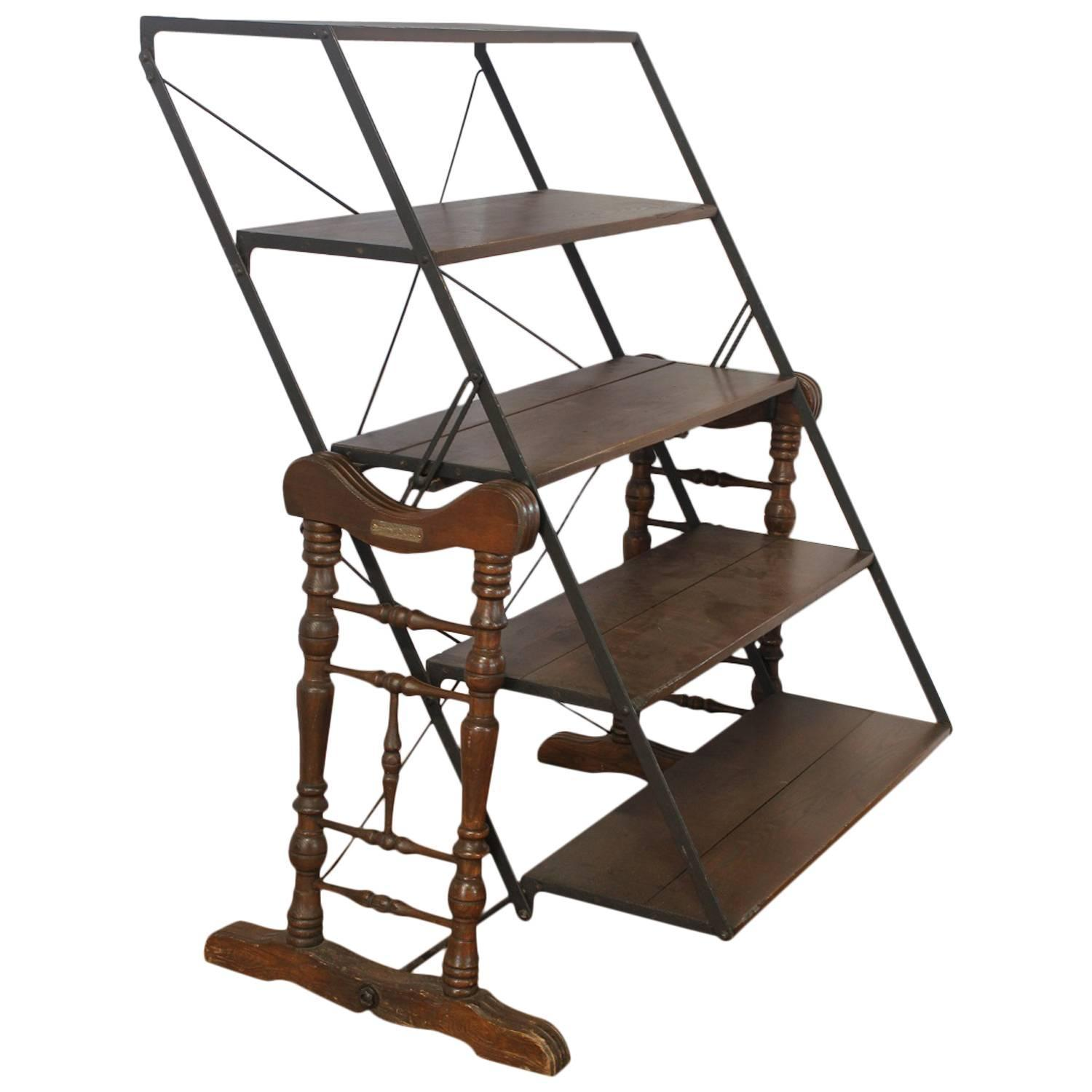 Antique Country Store Bakers ShelvesTable By Yesbera Co Toledo For Sale At 1stdibs