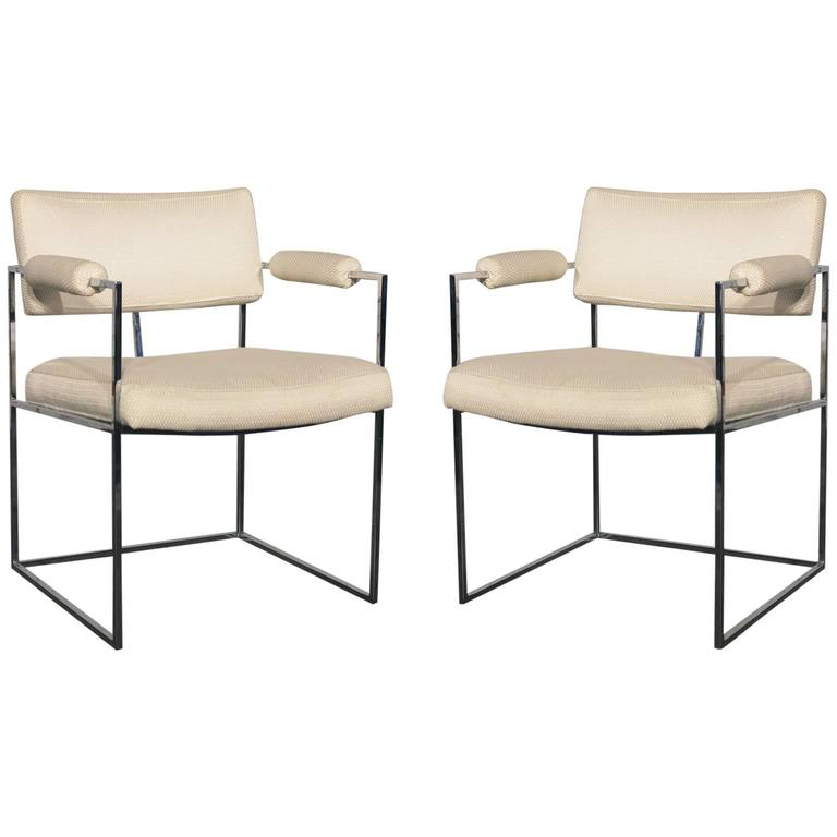 milo baughman dining chairs baby chair to eat 1188 white at 1stdibs for sale
