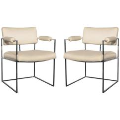 Milo Baughman Dining Chairs Stool Chair Autocad 1188 White At 1stdibs