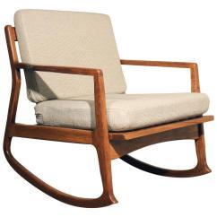 Danish Modern Rocking Chair Antique Dining Room Chairs Teak At 1stdibs