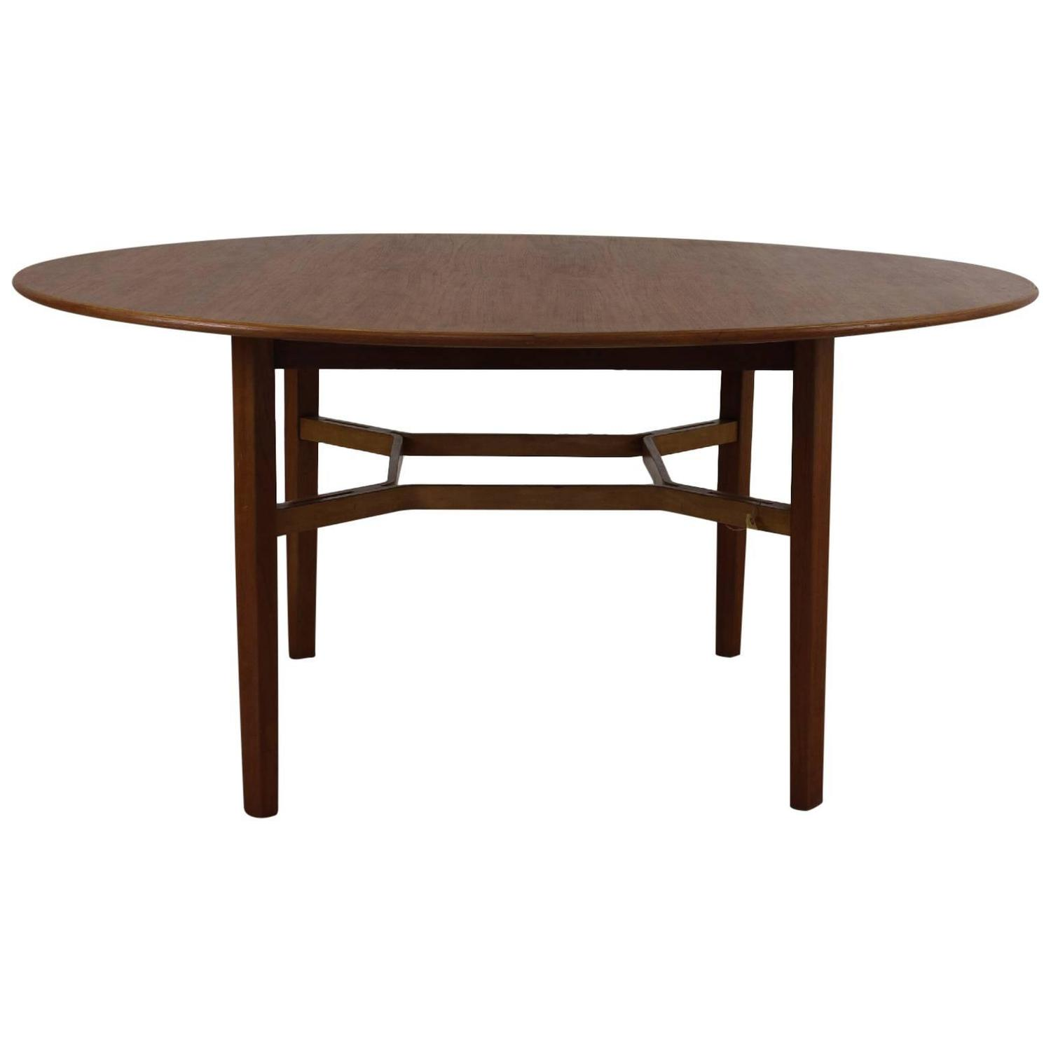 round card table and chairs retro for sale large designed by lewis butler knoll