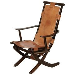 Folding Chair Leather Sex Toy Mid Century Tan And Wood Adjustable