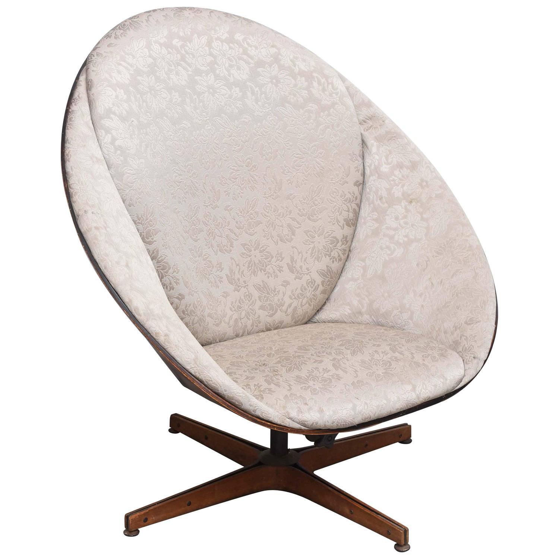 Wooden Egg Chair