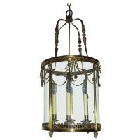 Outstanding French Gilt Bronze Ribbon Bow Lantern Fine ...