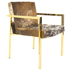 Cowhide Chairs Modern Cushions For Rocking Dining Armchair Sale At 1stdibs