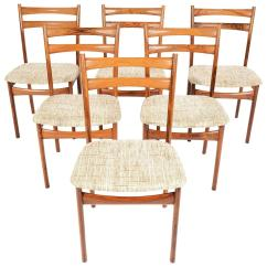 Skovby Rosewood Dining Chairs Evenflo Majestic High Chair Cover Set Of Six Møbelfabrik For