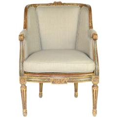 French Louis Chair Slings For Directors Chairs Xvi Style Wingback At 1stdibs