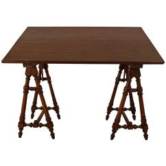 Tall Drafting Table Chair Ergonomic To Fix Posture Italian Walnut And Rosewood Adjustable