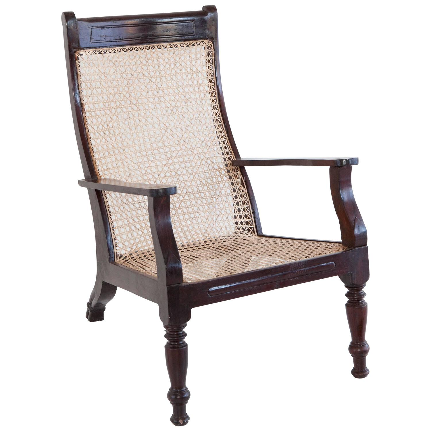 plantation style chairs chair cushion cover anglo indian at 1stdibs