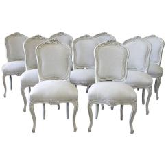 Louis Dining Chairs Concert Lawn 20th Century Xv Style For Sale At 1stdibs