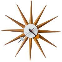 1950s George Nelson Sunburst Wall Clock at 1stdibs