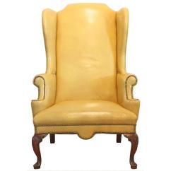 Swivel Chair Mustard Yellow Office Executive Leather Home Ideas