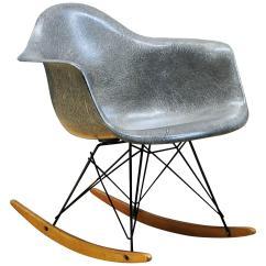 Eames Rocking Chair Bedroom Valet 1950s Elephant Hide Grey Rar Rope Edge