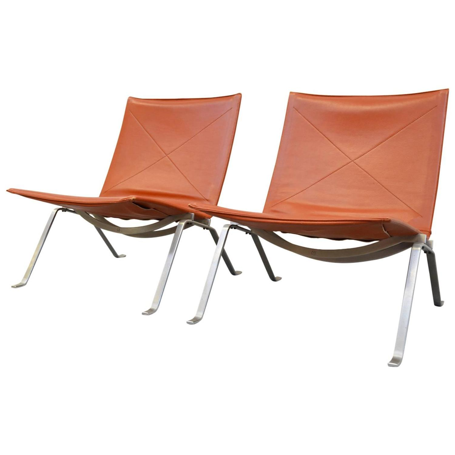 Pk22 Chair Pk22 Lounge Chairs By Poul Kjaerholm For E Kold