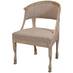 Barrel Back Chair Baby High Walmart Swedish At 1stdibs