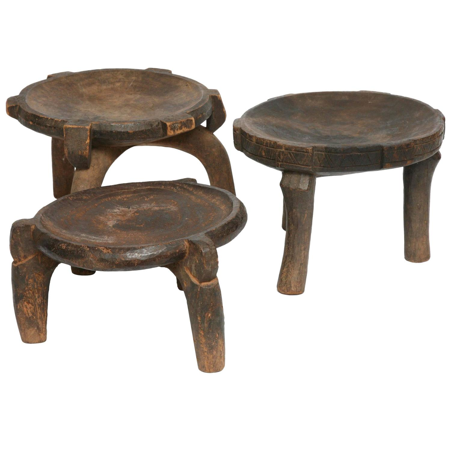 chair stool difference chairul tanjung 3 african stools antique ethiopian handcarved with