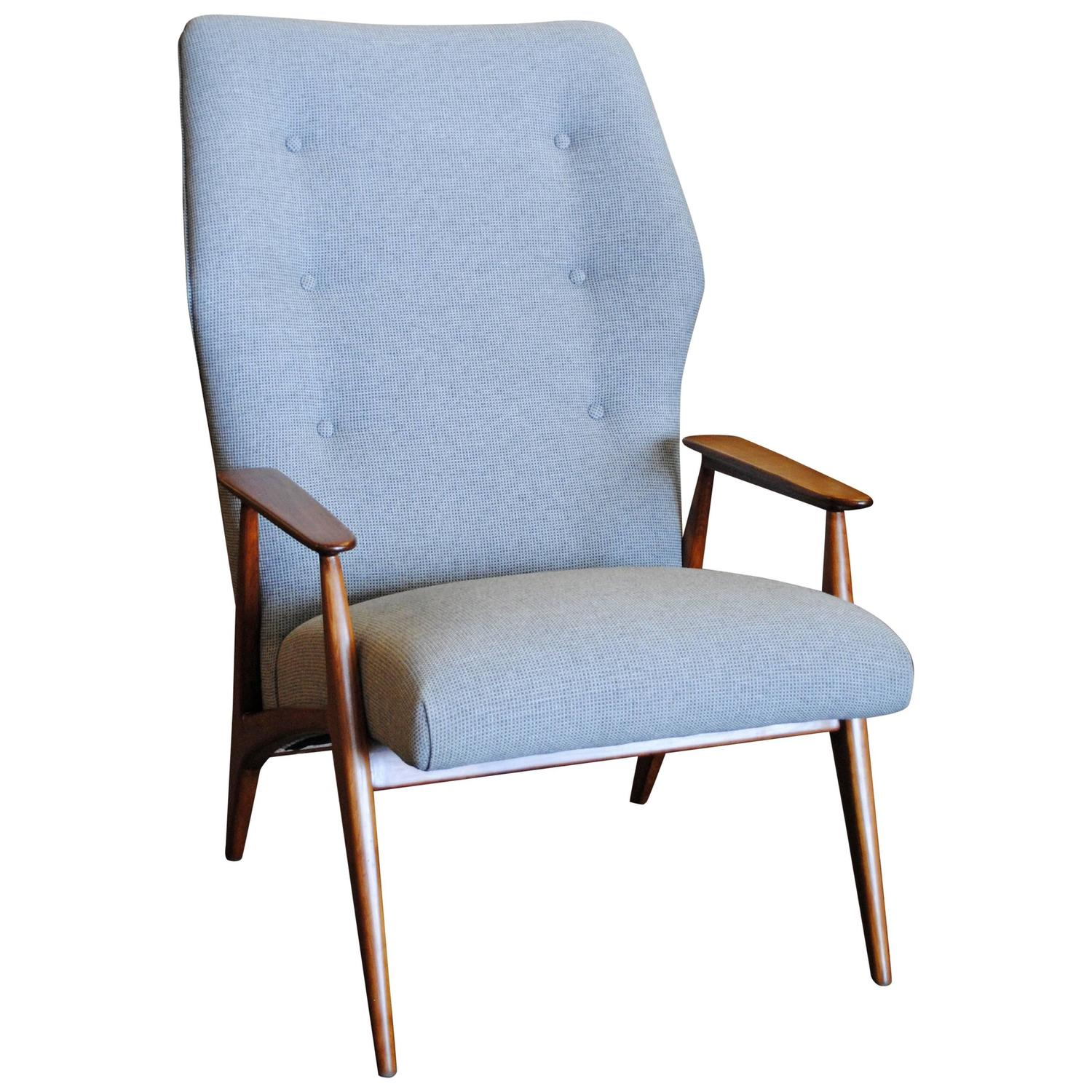 modern wingback chairs for sale decorative chair covers danish lounge at 1stdibs