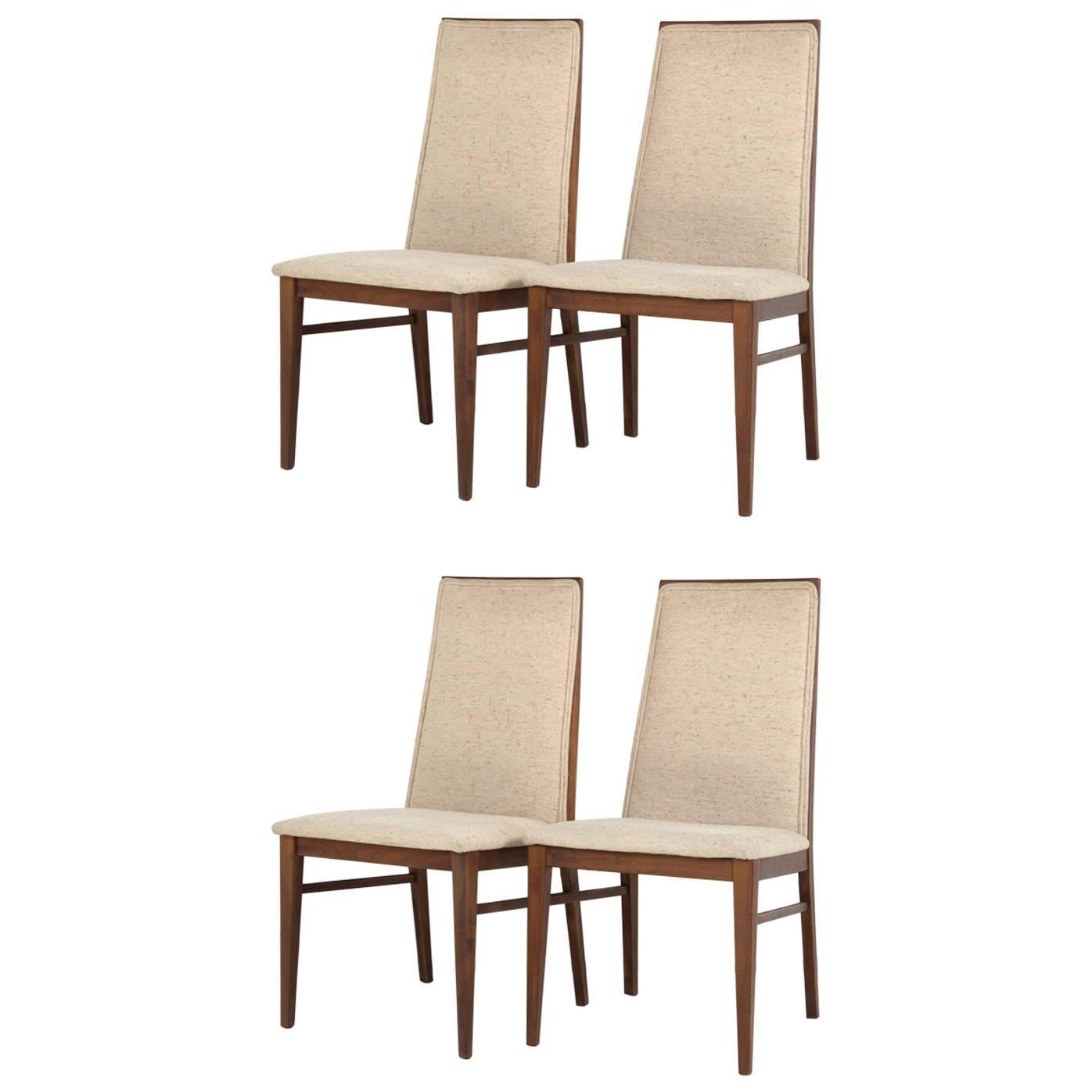 milo baughman dining chairs timed chair stand test kngf for dillingham set of four