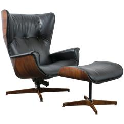Modern Lounge Chair And Ottoman Set Office Gaming Chairs Mid Century By George