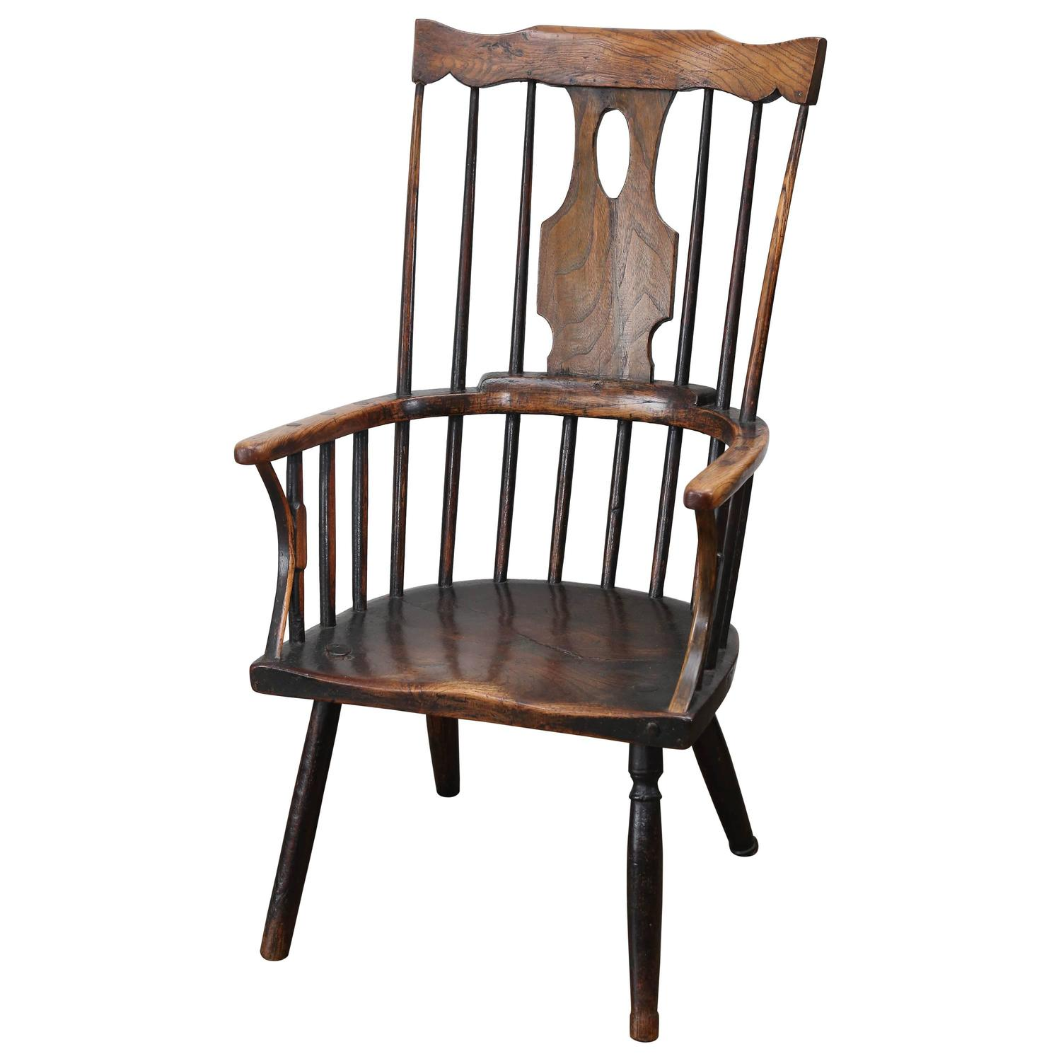 antique windsor chair identification best adirondack chairs early 19th century elm for sale at