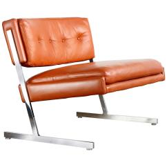 Modern Slipper Chair Hair Washing Lounge By Harvey Probber For Sale At