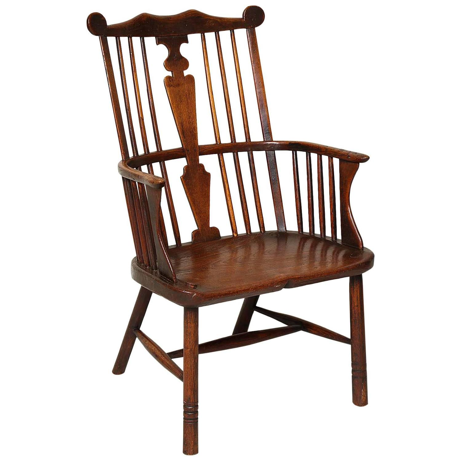 comb back windsor chair comfy pc gaming 18th century english for sale at