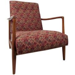 Adrian Pearsall Lounge Chair Floor Rocking Mid Century Style For Sale At