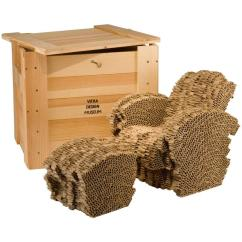 Frank Gehry Chair Wedding Covers In Cornwall Little Beaver Limited Edition Cardboard And Ottoman By O For