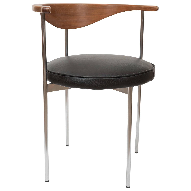 elbow chair stool linen dining room chairs fritz hansen model 3200 denmark circa 1963