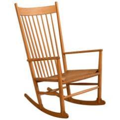 Hans Wegner Rocking Chair Sofa Mart Chairs Vintage Danish J 16 Rocker At 1stdibs