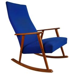 Mid Century Modern Rocking Chair Space Saver High Target Classic Danish Denmark