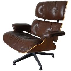 Herman Miller Leather Chair Cost Of Reupholstering A Model 670 Brown Lounge By Charles And Ray