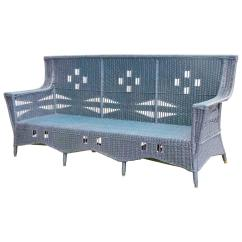 1930 Cane Back Sofa Black Sofas For Sale 39s Wicker At 1stdibs