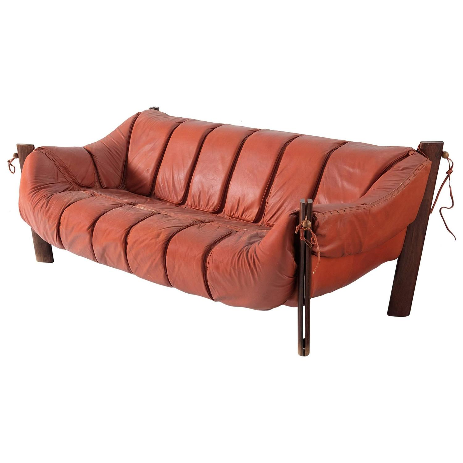 percival lafer sofa baxton studio leather sectional three seat in rosewood and for