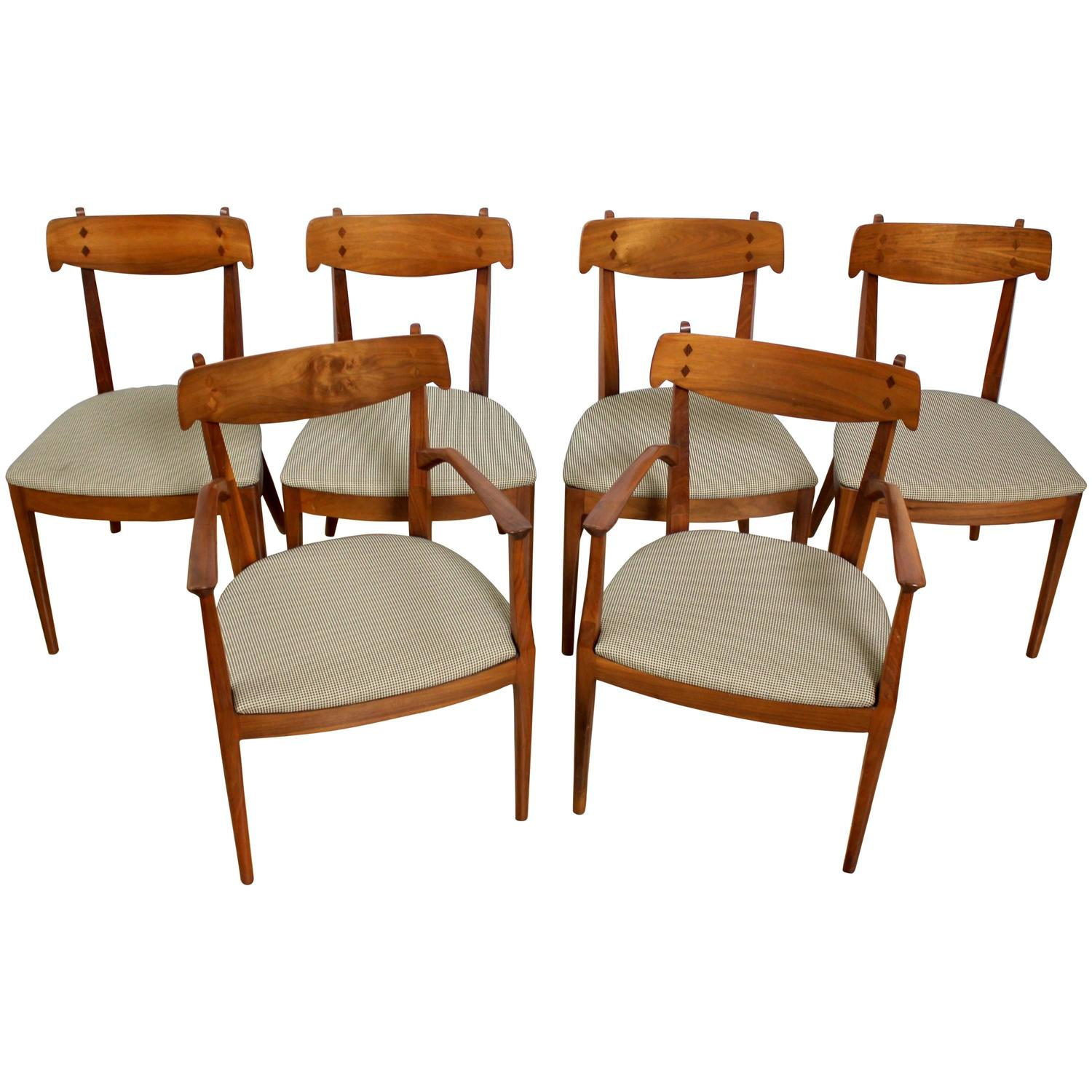 Drexel Chairs Six Kipp Stewart And Stewart Macdougall Dining Chairs For