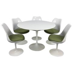 Knoll Saarinen Chair Folding Wrought Iron Chairs Eero Tulip Table And By Newer