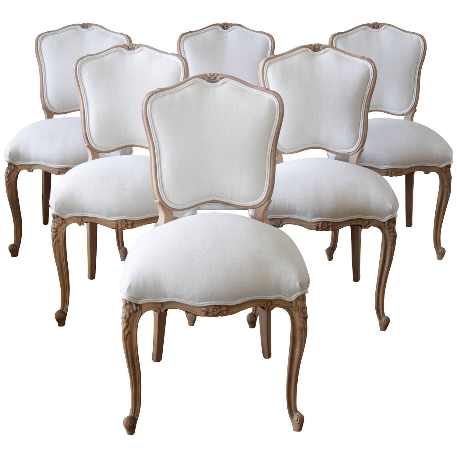 Country Dining Chairs Louis Xv Style French Country Dining Chairs At 1stdibs