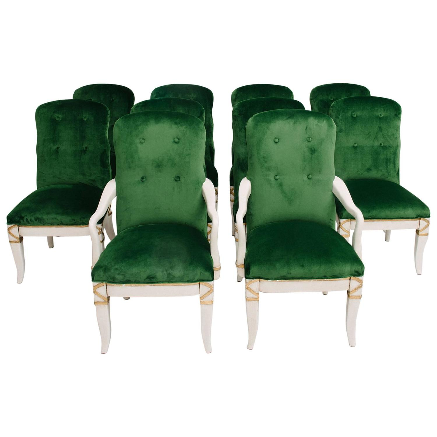 marge carson chairs modern art chair covers and linens set of 10 dining for sale at 1stdibs
