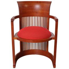 Frank Lloyd Wright Chairs Leather Lift Chair Barrel From Cassina At 1stdibs