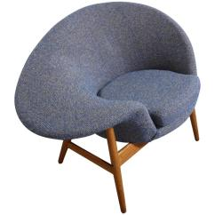 Fried Egg Chair And A Half Ikea By Hans Olsen At 1stdibs For Sale