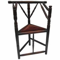 Primitive Corner Chair For Sale at 1stdibs