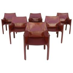Mario Bellini Chair How To Make A Cover Out Of Sheet Leather Cab Chairs By Cassina Italy For