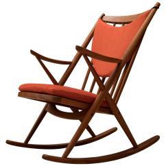 Z Chair For Sale Swivel To Get Into Bathtub Vintage Danish Bramin Teak Rocking At 1stdibs
