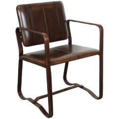 Tan Leather Chair Sale Padded Camping Brown After Jacques Adnet For At 1stdibs