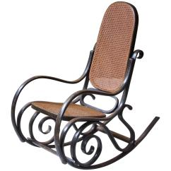 Bent Wood Rocking Chair Outdoor Wicker Hammock Antique Thonet Model 10 Bentwood Salvatore Leone Circa 1890s At 1stdibs