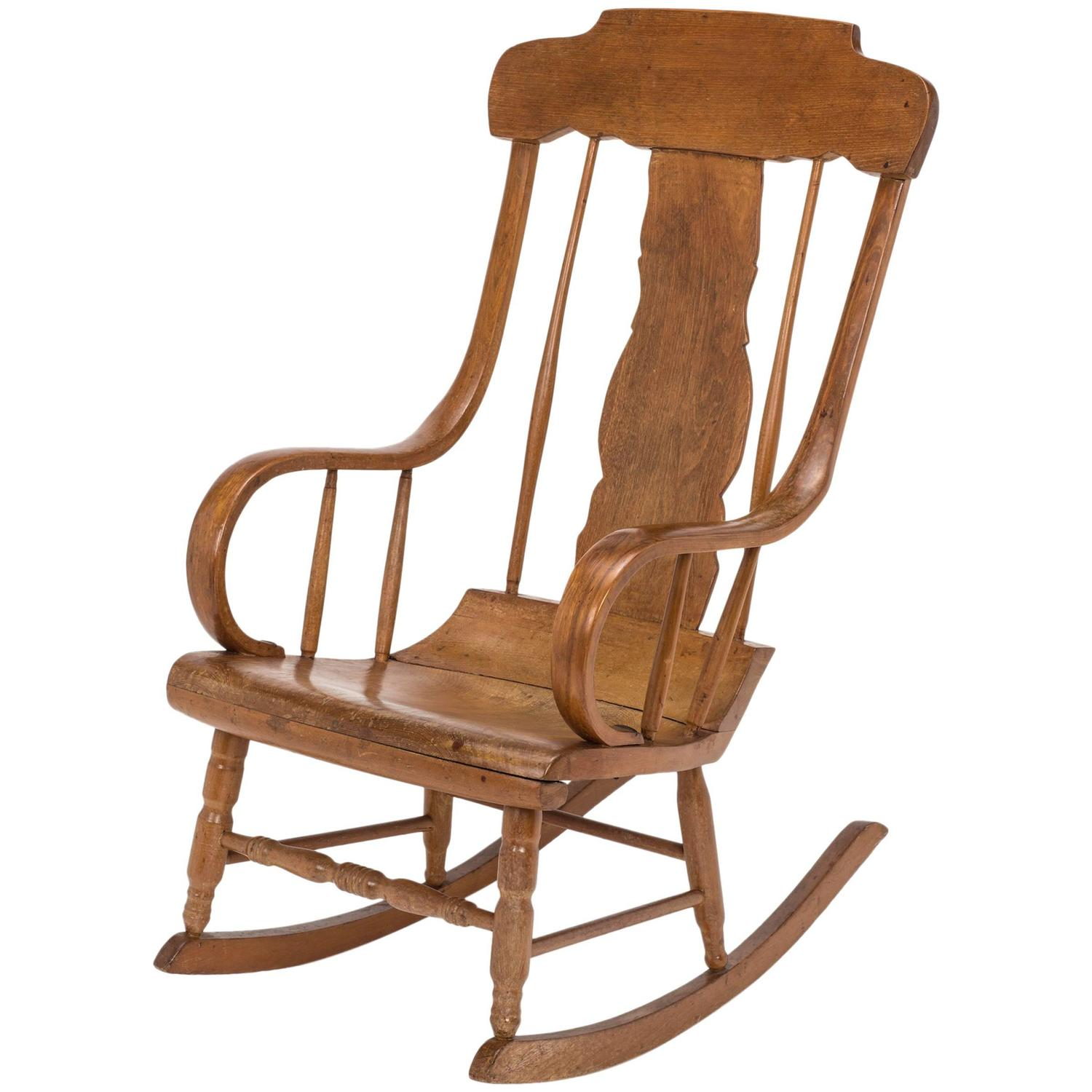 rocking chair antique styles king rental swedish style for sale at 1stdibs