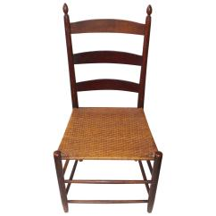 Shaker Ladder Back Chair Pier One Import Chairs 19th Century Mt Lebanon And Tilter