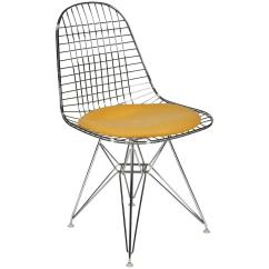 Eames Chair Cushion Oak Arrowback Dining Chairs Wire Side 39dkr 39 With Seat By Charles And Ray